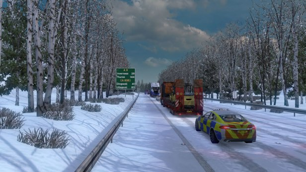 Frosty Winter Weather Mod v7 2 (1 35) – Grimes Mods – Euro Truck